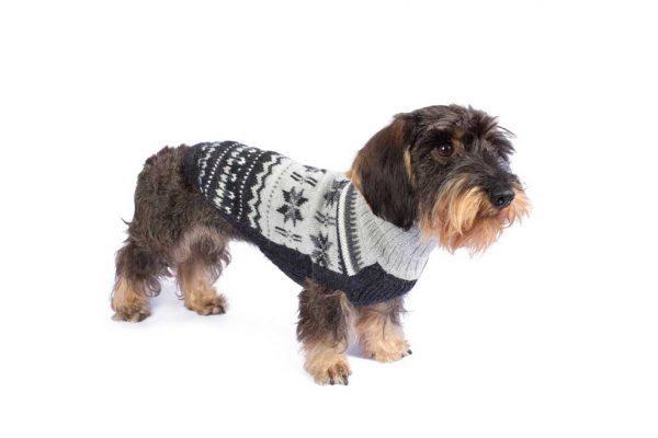 Nordic Dreams alpaca dog sweater