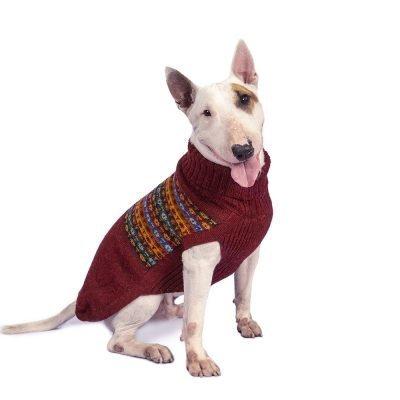 Cheery Bands alpaca dog sweater