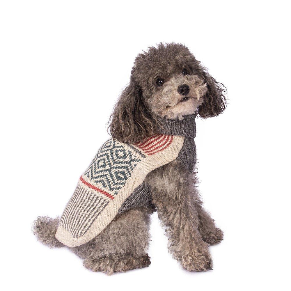 Muted Strings alpaca dog sweater