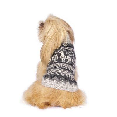 Llama alpaca dog sweater