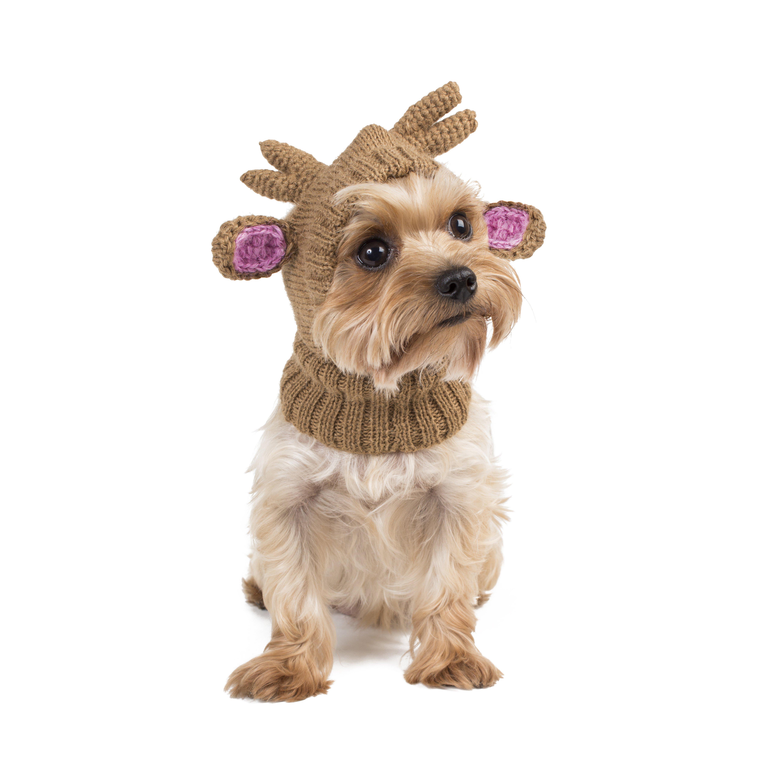 Reindeer Alpaca Dog Hat