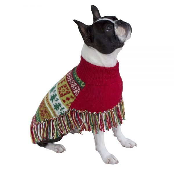"""Ho, Ho, Ho! Make their holiday magical with this cute and sublimely soft Christmas Tree alpaca dog poncho. As if from a Christmas tale, your little man will be the perfect host for everyone you hold near and dear! <ul> <li aria-level=""""1"""">Handcrafted from alpaca fiber blends</li> <li style=""""font-weight: 400;"""" aria-level=""""1""""><span style=""""font-weight: 400;"""">Soft</span><span style=""""font-weight: 400;""""> and warm to the touch</span></li> <li style=""""font-weight: 400;"""" aria-level=""""1""""><span style=""""font-weight: 400;"""">Not itchy & hypoallergenic</span></li> <li><span style=""""font-weight: 400;"""">Leash opening</span></li> <li>Convenient belly knitted string</li> </ul> This garment has been designed thinking on the well-being of your pet. [fusion_button link=""""https://alqowasi.com/wp-content/uploads/2021/09/Sizing-guide-ponchos-2021.jpg"""" text_transform=""""none"""" title="""""""" target=""""lightbox"""" link_attributes="""""""" alignment_medium="""""""" alignment_small="""""""" alignment="""""""" modal="""""""" hide_on_mobile=""""small-visibility,medium-visibility,large-visibility"""" sticky_display=""""normal,sticky"""" class=""""button-chart"""" id="""""""" color=""""default"""" button_gradient_top_color="""""""" button_gradient_bottom_color="""""""" button_gradient_top_color_hover="""""""" button_gradient_bottom_color_hover="""""""" accent_color="""""""" accent_hover_color="""""""" type="""""""" bevel_color="""""""" border_width="""""""" border_radius="""""""" border_color="""""""" border_hover_color="""""""" size=""""small"""" stretch=""""default"""" margin_top="""""""" margin_right="""""""" margin_bottom="""""""" margin_left="""""""" icon=""""fa-ruler fas"""" icon_position=""""left"""" icon_divider=""""no"""" animation_type="""""""" animation_direction=""""left"""" animation_speed=""""0.3"""" animation_offset=""""""""]Sizing Chart[/fusion_button]"""