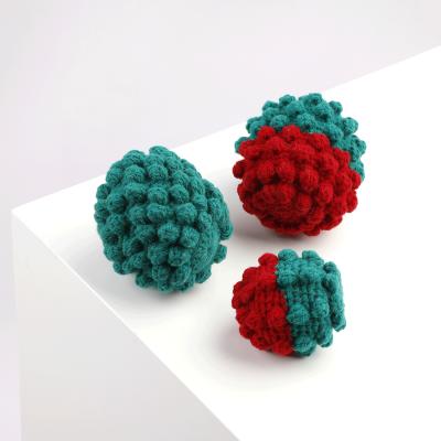 Crochet Ball Christmas Alqo Wasi Toy