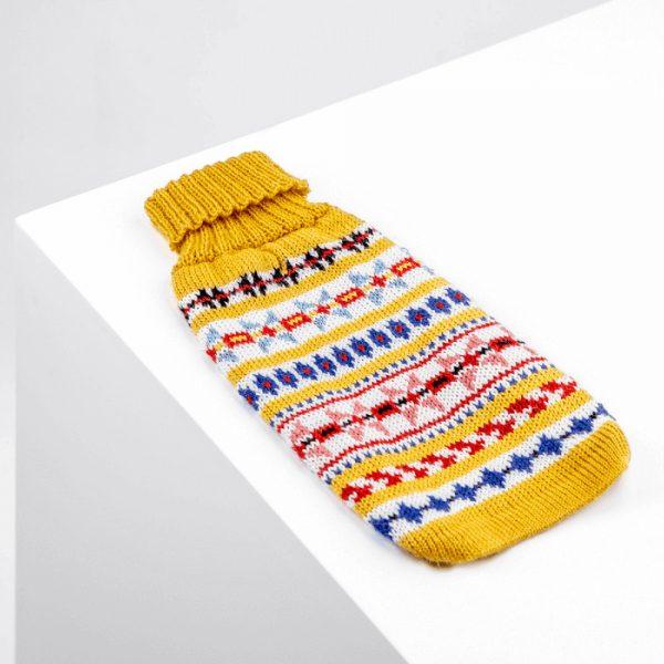 Little Miss Sunshine alpaca dog sweater