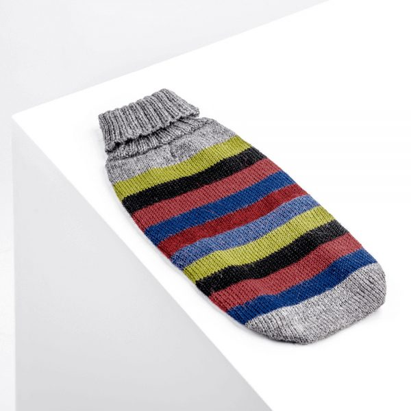 Yappy Stripes-Collection 2020: Alqo Wasi alpaca sweater for dogs