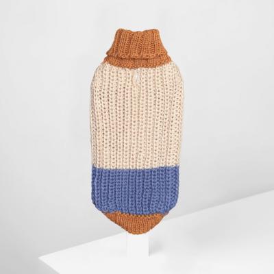 Alpaca dog sweater Soft Dreams Light Blue