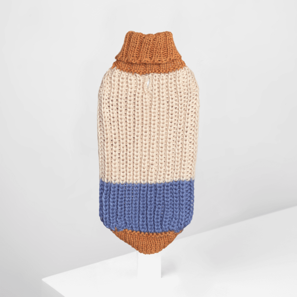 Soft Dreams Light Blue Alpaca dog sweater