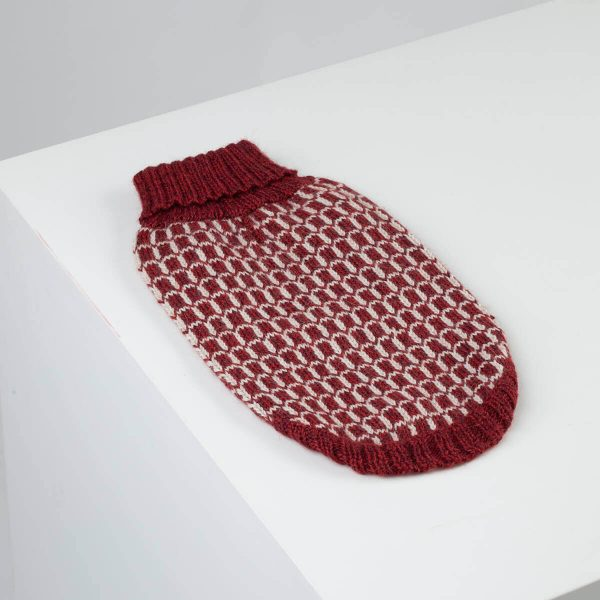 """<span style=""""font-weight: 400;"""">Give your pup a sweater that's better. An Alpaca sweater lasts longer and feels better.</span> <ul> <li aria-level=""""1"""">Handcrafted from alpaca fiber blends</li> <li style=""""font-weight: 400;"""" aria-level=""""1""""><span style=""""font-weight: 400;"""">Soft</span><span style=""""font-weight: 400;""""> and warm to the touch</span></li> <li style=""""font-weight: 400;"""" aria-level=""""1""""><span style=""""font-weight: 400;"""">Not itchy & hypoallergenic</span></li> <li><span style=""""font-weight: 400;"""">Leash opening</span></li> </ul> – Model Ramona is a French Bulldog Size Medium – Model Churro is a Poodle size Small This garment has been designed thinking on the well-being of your pet. [fusion_button link=""""https://alqowasi.com/wp-content/uploads/2021/03/Sizing-guide-sweater-dresses.png"""" text_transform=""""none"""" title="""""""" target=""""lightbox"""" link_attributes="""""""" alignment_medium="""""""" alignment_small="""""""" alignment="""""""" modal="""""""" hide_on_mobile=""""small-visibility,medium-visibility,large-visibility"""" sticky_display=""""normal,sticky"""" class=""""button-chart"""" id="""""""" color=""""default"""" button_gradient_top_color="""""""" button_gradient_bottom_color="""""""" button_gradient_top_color_hover="""""""" button_gradient_bottom_color_hover="""""""" accent_color="""""""" accent_hover_color="""""""" type="""""""" bevel_color="""""""" border_width="""""""" border_radius="""""""" border_color="""""""" border_hover_color="""""""" size=""""small"""" stretch=""""default"""" margin_top="""""""" margin_right="""""""" margin_bottom="""""""" margin_left="""""""" icon=""""fa-ruler fas"""" icon_position=""""left"""" icon_divider=""""no"""" animation_type="""""""" animation_direction=""""left"""" animation_speed=""""0.3"""" animation_offset=""""""""]Sizing Chart[/fusion_button]  <strong>Please note that orders that placed during this week including PRE-ORDERED garments will be shipped from September 27th to October 4th, 2021. As always, we can assure you that our unique collection is worth the wait. Once your order is ready to ship, delivery time ranges from 3-5 business days worldwide with DHL.</strong>"""