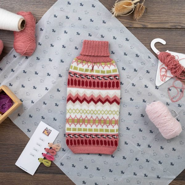 """Easy to care for, soft on your pet's skin. Two reasons why Alqo Wasi sweaters are in every conscious dog owner's wardrobe this season. <ul> <li>Handcrafted from alpaca fiber blends</li> <li><span style=""""font-weight: 400;"""">Soft</span><span style=""""font-weight: 400;""""> and warm to the touch</span></li> <li style=""""font-weight: 400;"""" aria-level=""""1""""><span style=""""font-weight: 400;"""">Not itchy & hypoallergenic</span></li> <li><span style=""""font-weight: 400;"""">Leash opening</span></li> </ul> – Zelda is a Boston Terrier 6 month size XXSmall This garment has been designed thinking on the well-being of your pet. [fusion_button link=""""https://alqowasi.com/wp-content/uploads/2021/03/Sizing-guide-sweater-dresses.png"""" text_transform=""""none"""" title="""""""" target=""""lightbox"""" link_attributes="""""""" alignment_medium="""""""" alignment_small="""""""" alignment="""""""" modal="""""""" hide_on_mobile=""""small-visibility,medium-visibility,large-visibility"""" sticky_display=""""normal,sticky"""" class=""""button-chart"""" id="""""""" color=""""default"""" button_gradient_top_color="""""""" button_gradient_bottom_color="""""""" button_gradient_top_color_hover="""""""" button_gradient_bottom_color_hover="""""""" accent_color="""""""" accent_hover_color="""""""" type="""""""" bevel_color="""""""" border_width="""""""" border_radius="""""""" border_color="""""""" border_hover_color="""""""" size=""""small"""" stretch=""""default"""" margin_top="""""""" margin_right="""""""" margin_bottom="""""""" margin_left="""""""" icon=""""fa-ruler fas"""" icon_position=""""left"""" icon_divider=""""no"""" animation_type="""""""" animation_direction=""""left"""" animation_speed=""""0.3"""" animation_offset=""""""""]Sizing Chart[/fusion_button]  <strong>Please note that orders that placed during this week including PRE-ORDERED garments will be shipped from October 29th to November 8th, 2021. As always, we can assure you that our unique collection is worth the wait. Once your order is ready to ship, delivery time ranges from 3-5 business days worldwide with DHL.</strong>"""