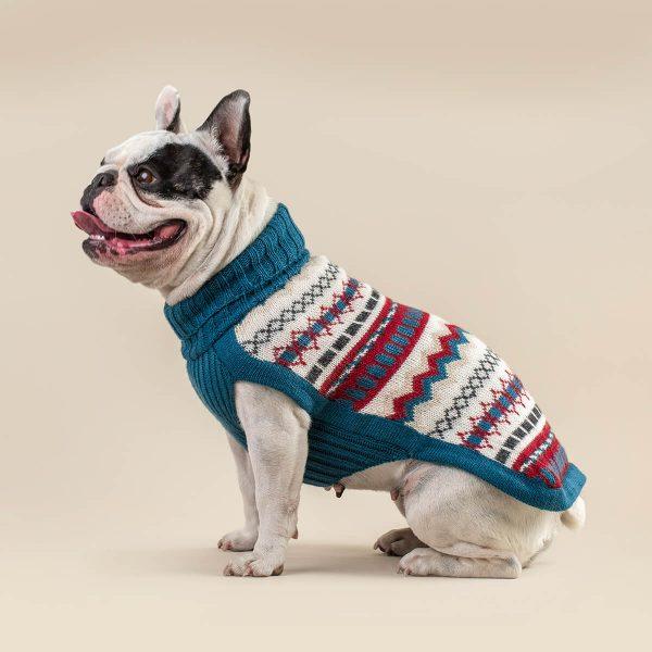 Iceberg Alpaca Dog Sweater